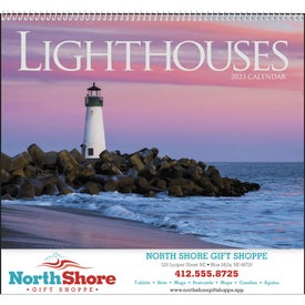 Lighthouses Appointment Calendar for Promotion
