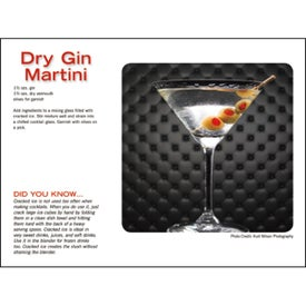 Liquor Recipe Calendar Printed with Your Logo