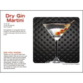 Liquor Recipe Calendar Printed with Your Logo