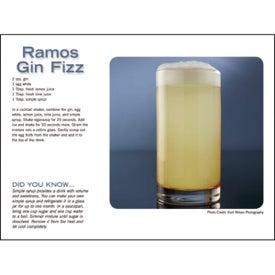 Liquor Recipe Calendar for Your Organization