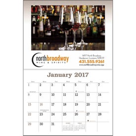 Liquor Recipe Calendar Giveaways