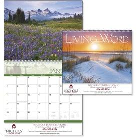 Monogrammed Living Word Calendar