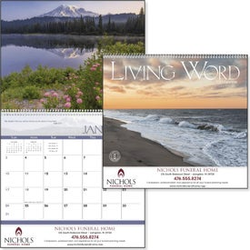 Living Word Calendar (Nondenominational, 2017)
