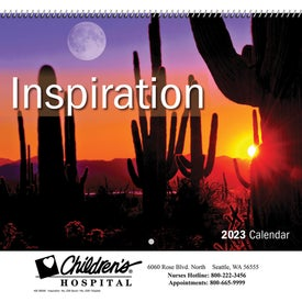 Advertising lnspiration Wall Calendar