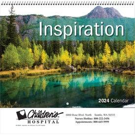 lnspiration Wall Calendar (Spiral)