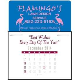Imprinted Magna Stick Contemporary Calendar Pad