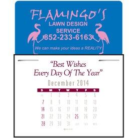 Imprinted Magna Stick Contemporary Calendar Pad