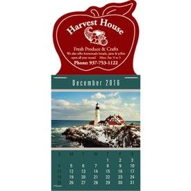 Magna Stick Scenic Calendar Pad