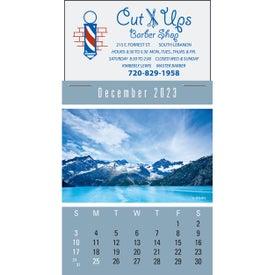 Advertising Magna Stick Scenic Calendar Pad