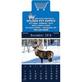 Magna Stick Sportsmen Calendar Pad for Your Company