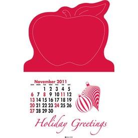 Logo Magna Stick Standard Calendar Pad