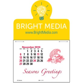 Magna Stick Standard Calendar Pad for Your Church