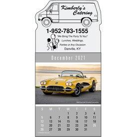 Magna Stick Cruisin Cars Calendar Pad