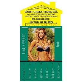 Magna Stick Maiden America Calendar Pad Printed with Your Logo