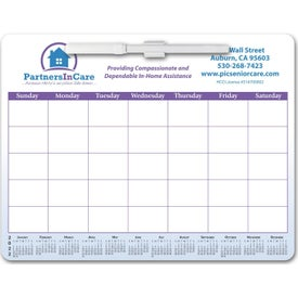 "Magnetic Memo Board Calendar (0.012"" Thick, 2021)"