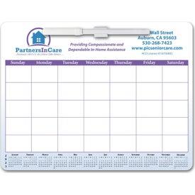 Magnetic Memo Board Calendar