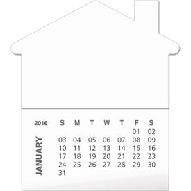 Printed Magnets with 12 Sheet Non Adhesive Calendars