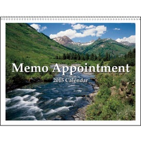 Monogrammed Memo Appointment with Picture - Calendar