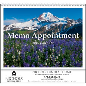 Branded Memo Appointment with Picture - Calendar