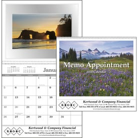 Memo Appointment with Picture - Calendar (2020)