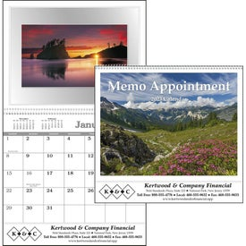 Printed Memo Appointment with Picture - Calendar