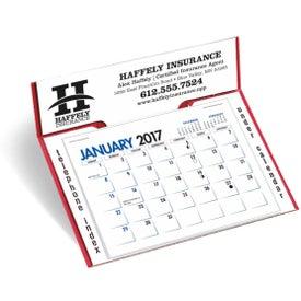 Memo Desk Calendar with Your Logo