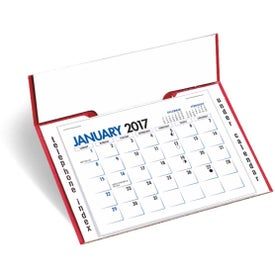 Memo Desk Calendar with Your Slogan