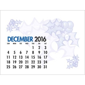 Memo Desk Calendar for Promotion