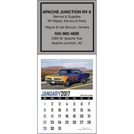 Logo Memorable Muscle Stick Up Calendar