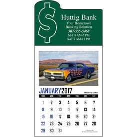Custom Memorable Muscle Stick Up Calendar