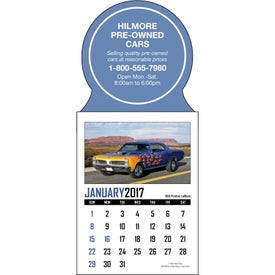 Company Memorable Muscle Stick Up Calendar