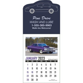 Memorable Muscle Stick Up Calendar (2017)