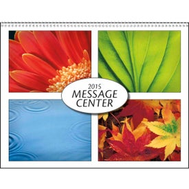 Personalized Message Center Calendar