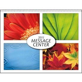 Personalized Message Center Calendar