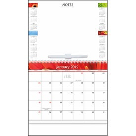 Branded Message Center Calendar