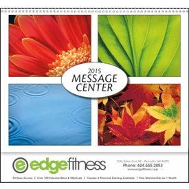 Message Center Calendar for Your Company