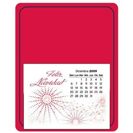 Monogrammed Message Maximizer Press N Stick Calendar