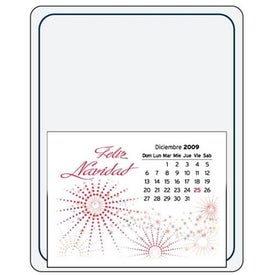 Message Maximizer Press N Stick Calendar Printed with Your Logo