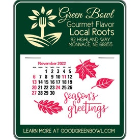 Message Maximizer Press N Stick Calendar