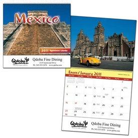 Mexico Wall Calendar