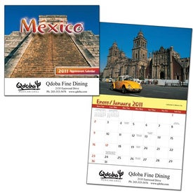 Mexico Wall Calendar (Stapled)