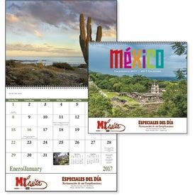 Company Mexico Spiral 13 Month Calendar