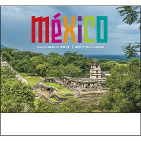 Mexico Stapled 13 Month Calendar for Your Church