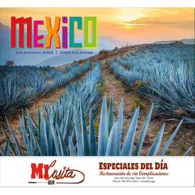 Mexico 13 Month Calendars (2022, Stapled)