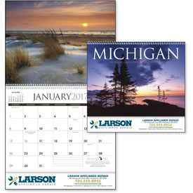 Customized Michigan Appointment Calendar