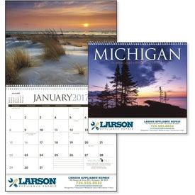 Customized Michigan Appointment Calendar