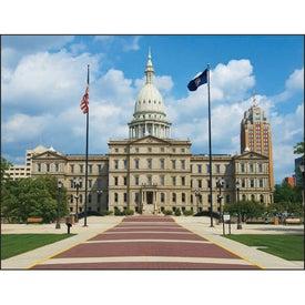 Monogrammed Michigan Appointment Calendar