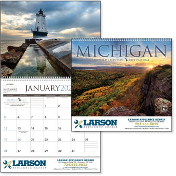 Michigan Calendar 2020 CLICK HERE to Order 2020 Michigan Appointment Calendars Printed