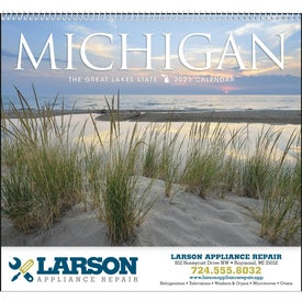 Michigan Appointment Calendar for Promotion