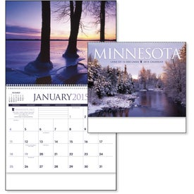 Minnesota Appointment Calendar Branded with Your Logo